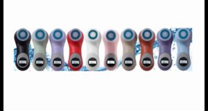 10 individual colors advanced Waterproof Erisonic Facial and Massaging System ~ Face Brush