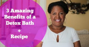 3 Amazing Benefits of a Detox Bath + the Recipe | By: What Chelsea Eats