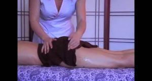 Anti-cellulite Massage Techniques _ Антицеллюлитный массаж ягодиц и ног