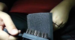 [ASMR] Intense Pure Brushing with Hard Bristle Brush