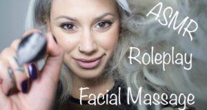 ASMR Massage Roleplay – Face Massage & Face Brushing * Whisper (Eng)