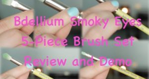 Bdellium Smoky Eyes 5-Piece Brush Set Review & Demo