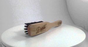 Detroit Grooming Co. Soft Boar Bristle Long Handled Brush