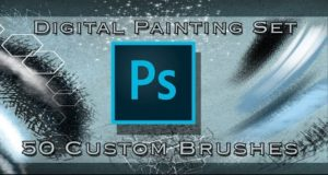 Digital Painting Brush Set – Photoshop  –  Demonstration Video