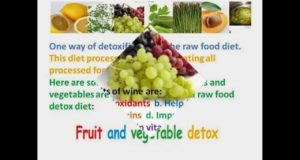 Fruit And Vegetable Detox Diet