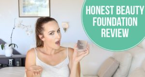 Honest Beauty foundation review || Natural, green beauty – Chemical Detox