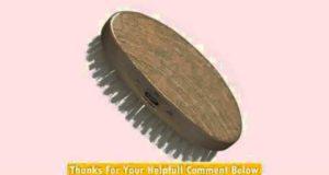 Kent MG3 Oval White Bristle Hair Brush