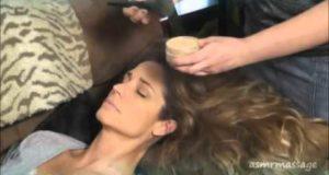 MakeUp Brush Massage ASMR (Soft Spoken)