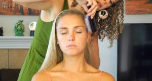 ☺ Relaxing Hair Brushing & Scalp Massage Sounds Stress Relief – Whisper 3D Binaural ASMR Ear to Ear☺