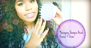 Scalp Shampoo and Massaging Brush| Review + Demo