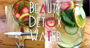 Simple Detox Water | Beauty Benefits | Clear Skin