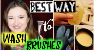 What's the BEST Way to Wash Makeup Brushes? | Battle of the Cleansing Methods